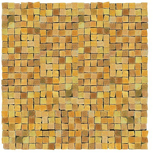 Mozaika Del Conca Corti di Canepa ocra 30x30 cm lesk CMGOCMOZ