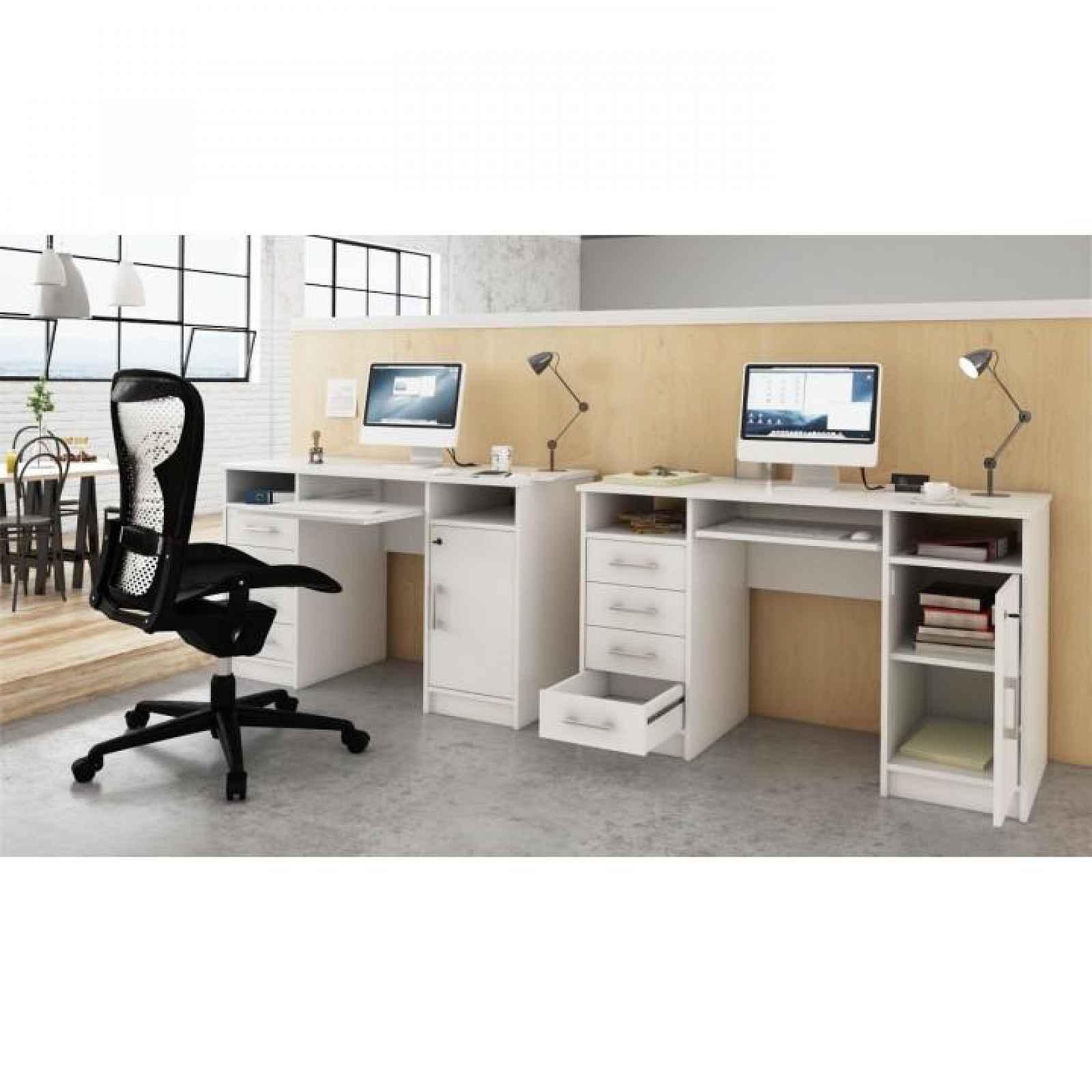 PC stůl, bílá, B9 NEW 0000184913 Tempo Kondela