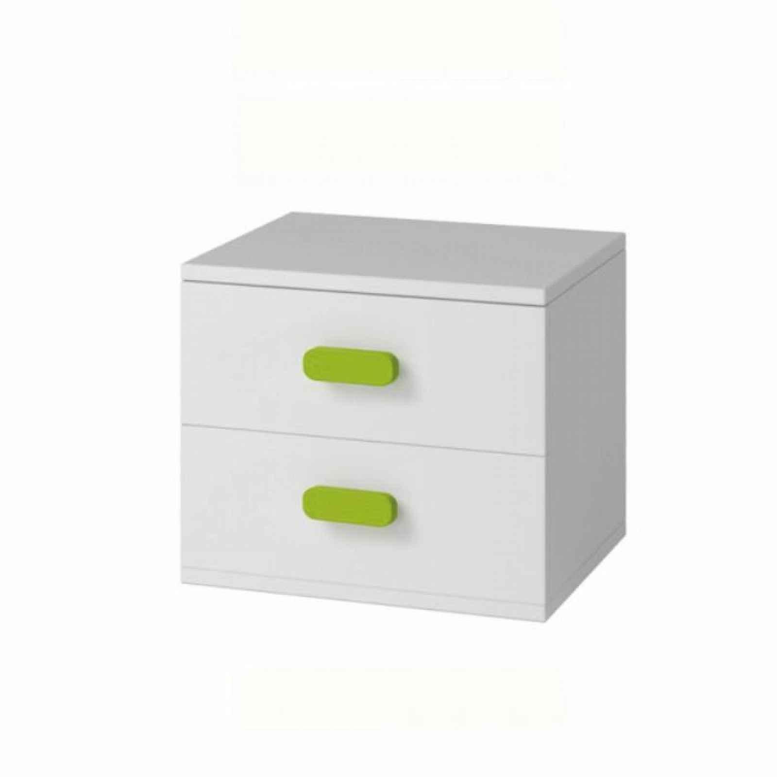 Noční stolek, bílá, SVEND TYP 22 0000185920 Tempo Kondela