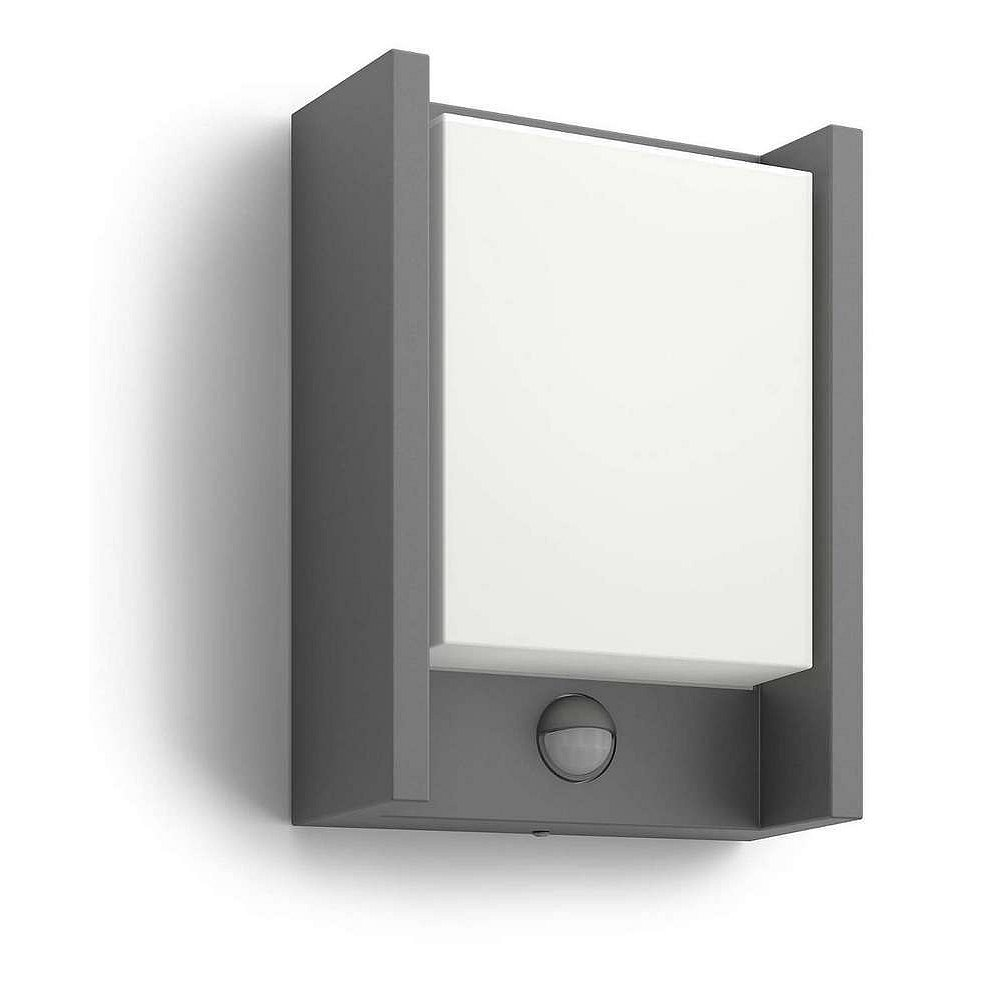 Svítidlo LED s čidlem Philips Arbour, 2700K, 6W, IP44