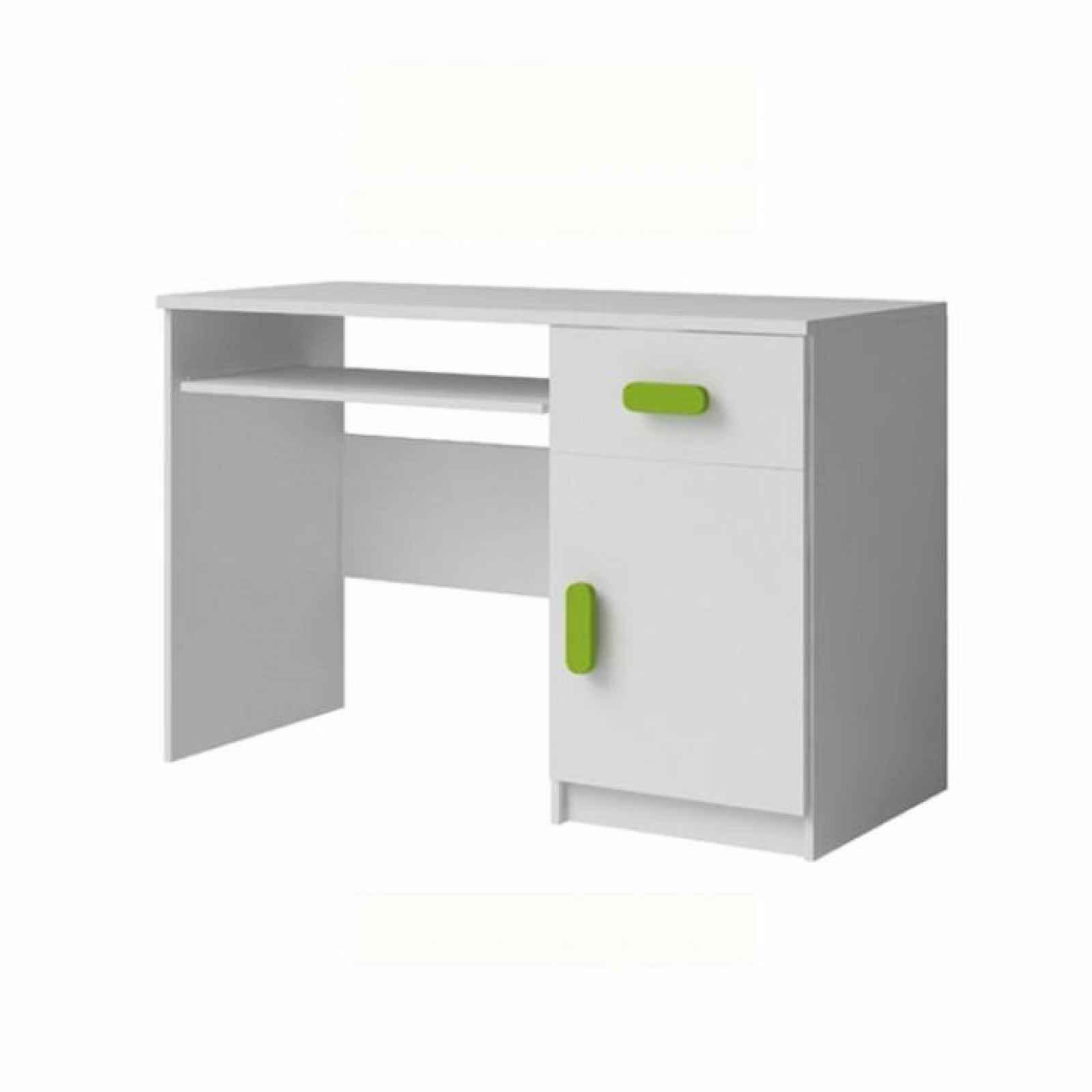 PC stůl, bílá, SVEND TYP 8 0000185918 Tempo Kondela