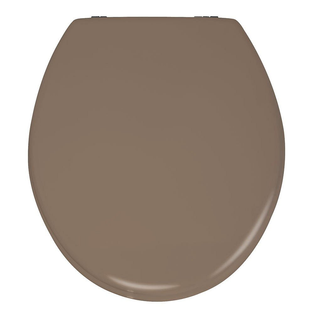 Matně béžové WC sedátko Wenko Prima, 41 x 38 cm