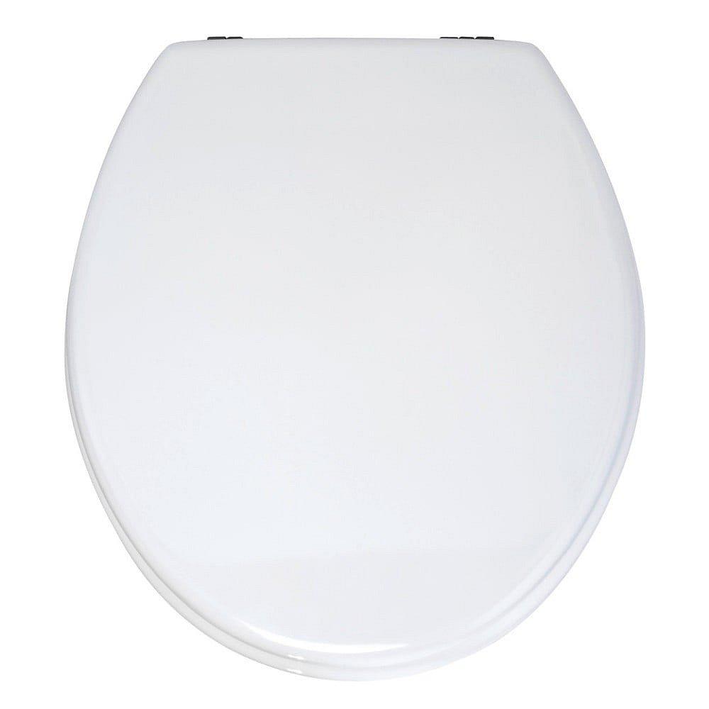 Bílé WC sedátko Wenko Prima, 41 x 38 cm