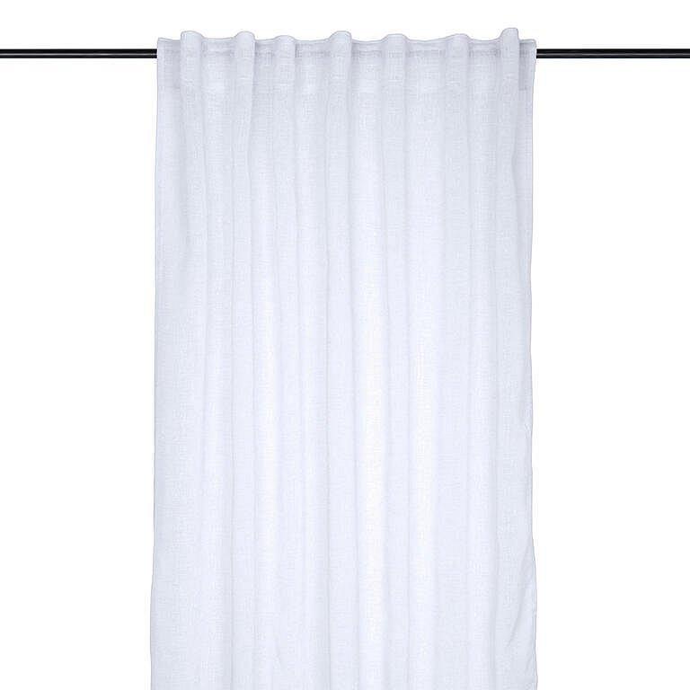 Dekorační závěs MADRID bílá 140 x 260 cm sada 2 ks