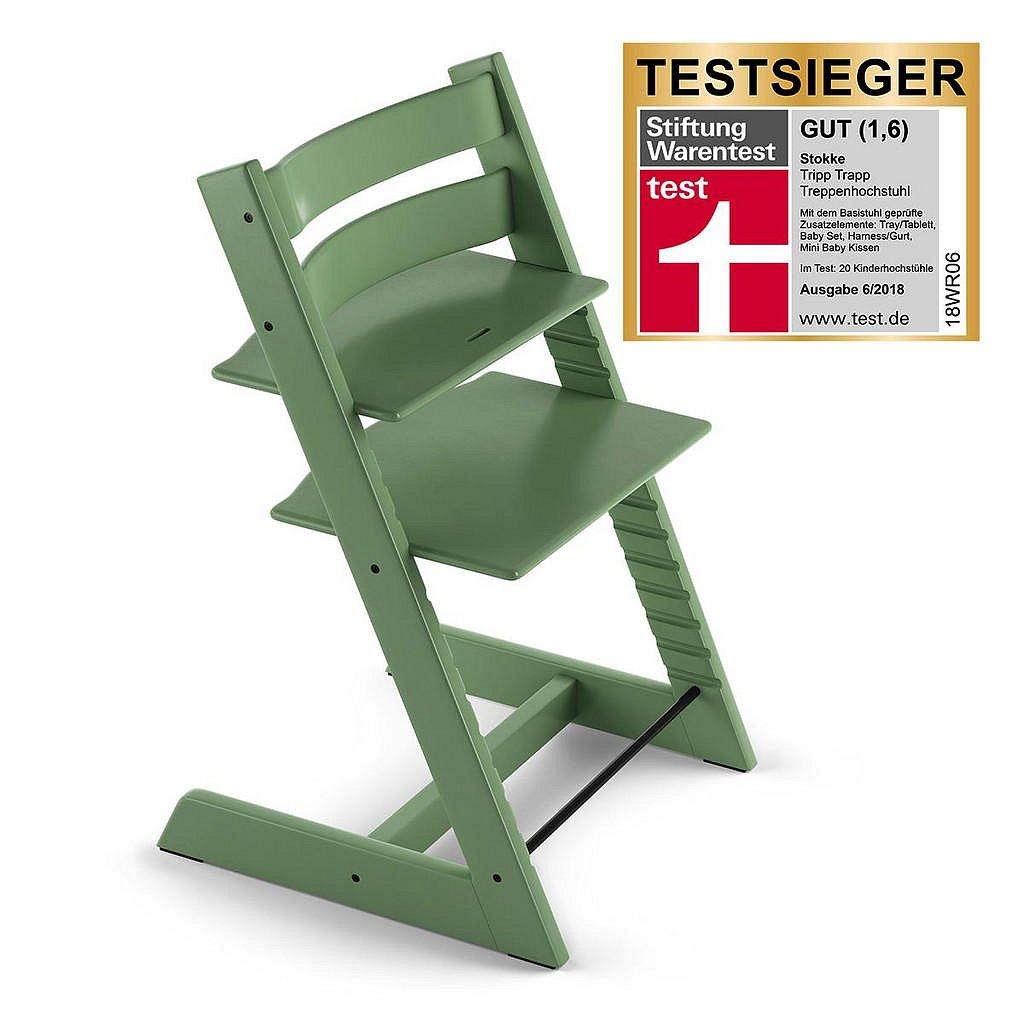 Stokke Vysoká Židle, Buk, Jadeitově Zelená, Pastelově Zelená - 004792001510