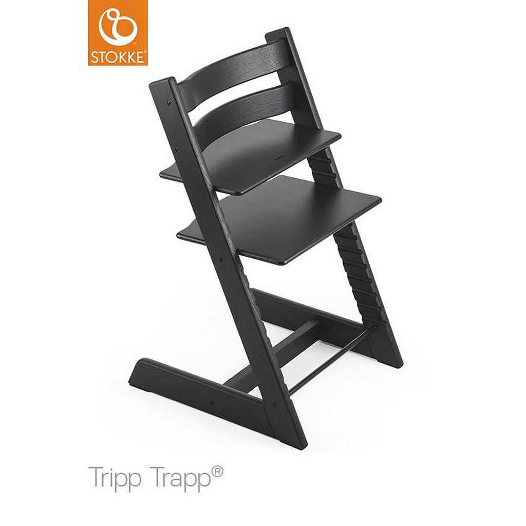 Stokke Vysoká Židle, Dub, Černá - 004792001514