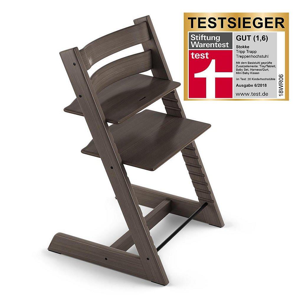 Stokke Vysoká Židle, Buk, Antracitová - 004792001532