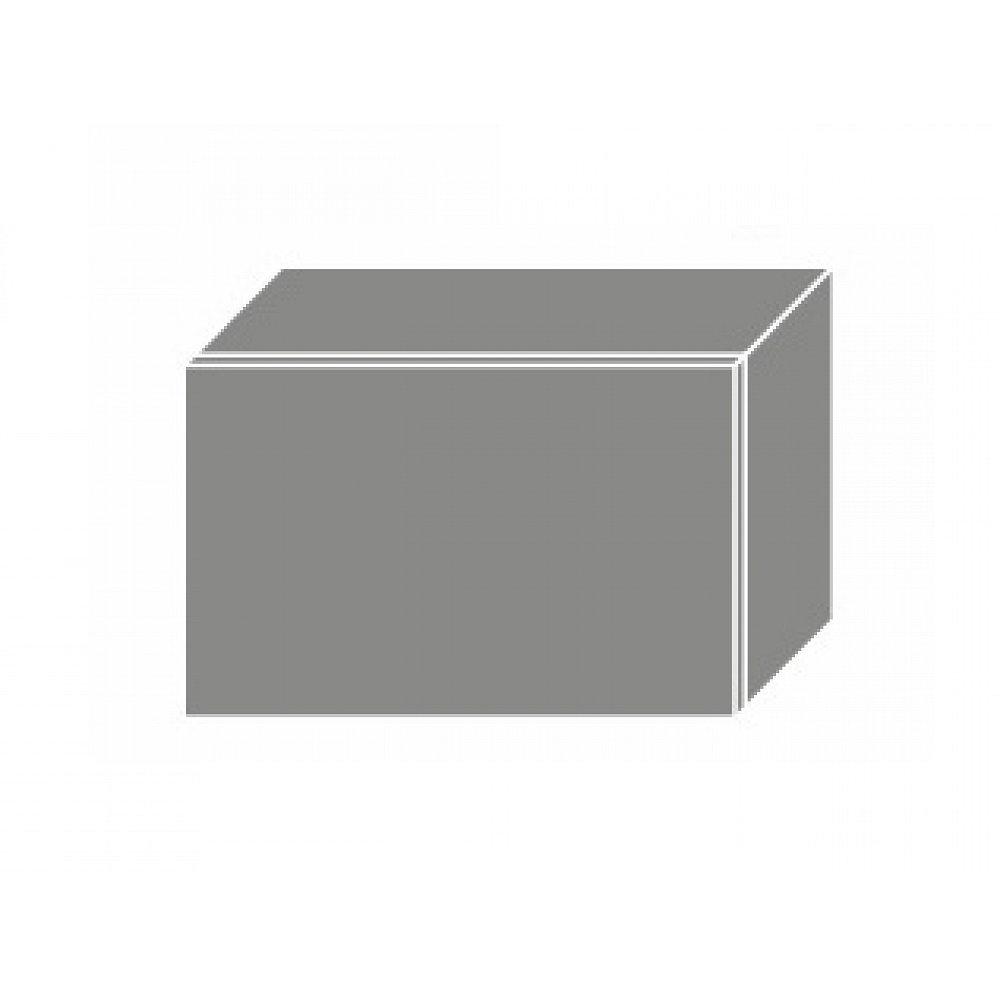 PLATINUM, skříňka horní W4b 50, korpus: grey, barva: black