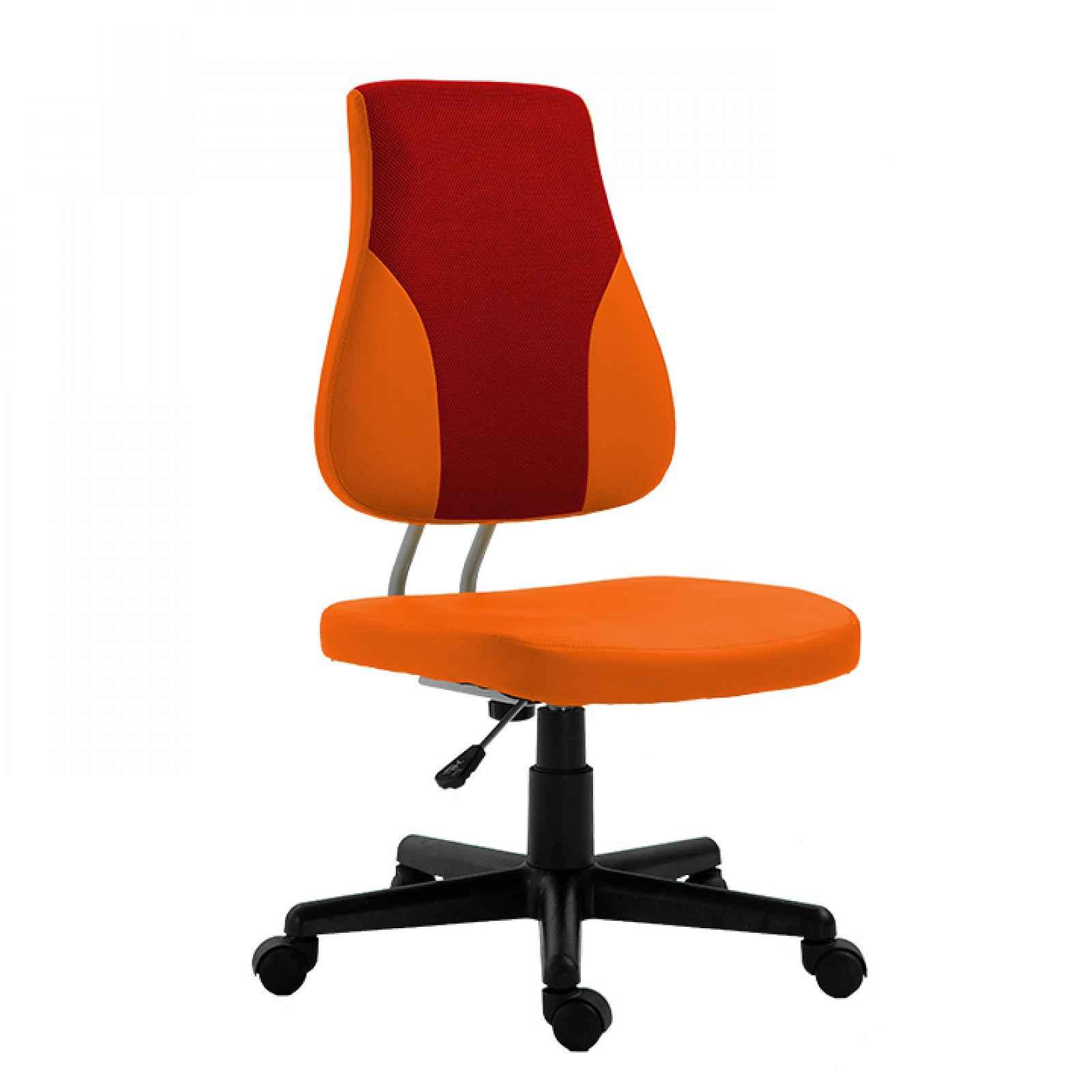 Dětská rostoucí židle RANDAL Tempo Kondela Oranžová