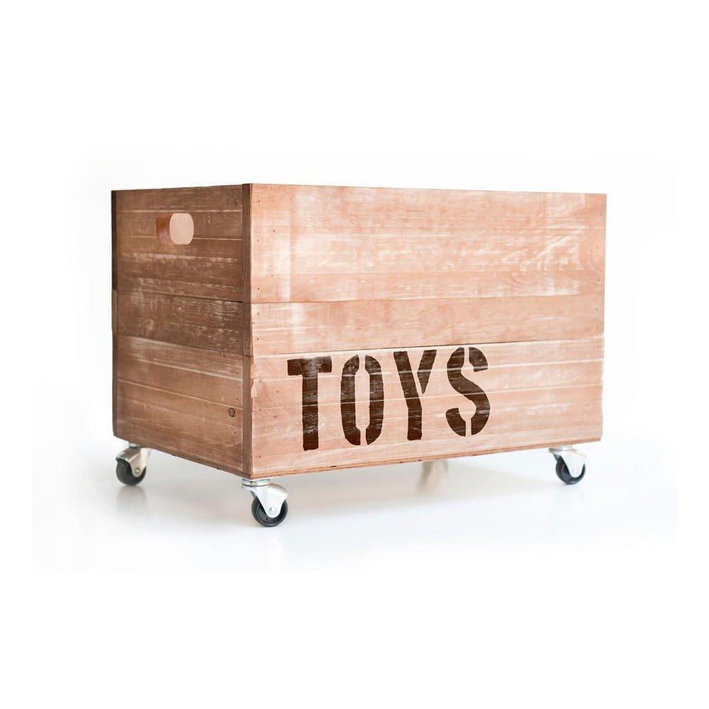 Dřevěná krabice na hračky Really Nice Things Toys