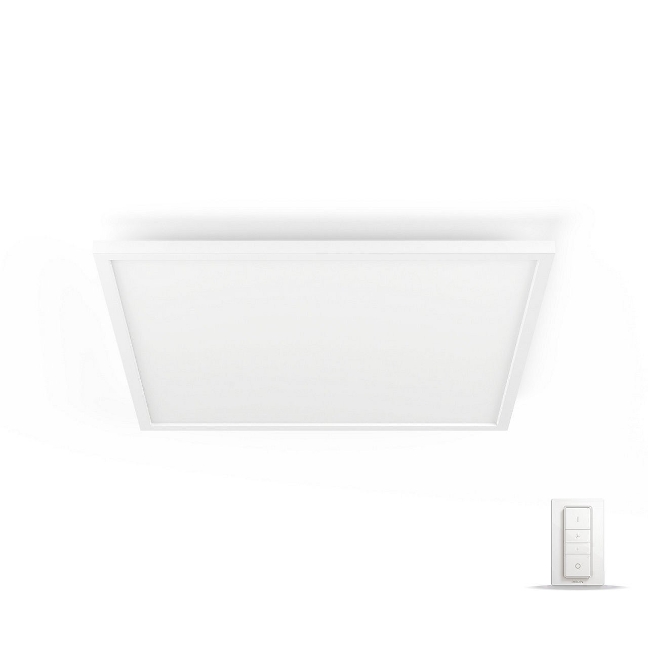 Panel LED 600×600 Philips Hue Aurelle