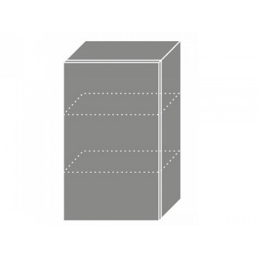 PLATINUM, skříňka horní W2 45, korpus: grey, barva: rose red