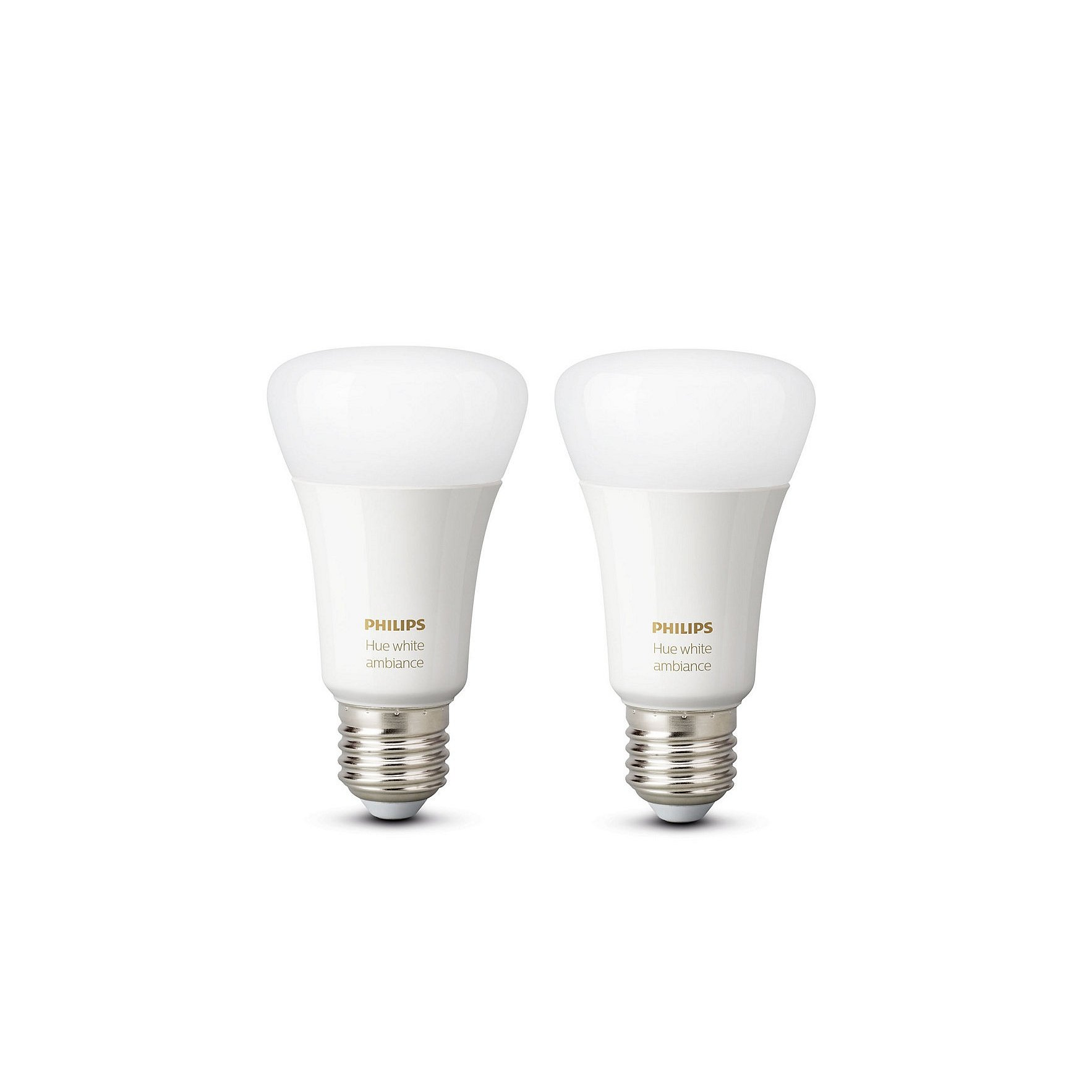 Sada LED žárovek Philips Hue white ambiance 2 ks E27 9,5W