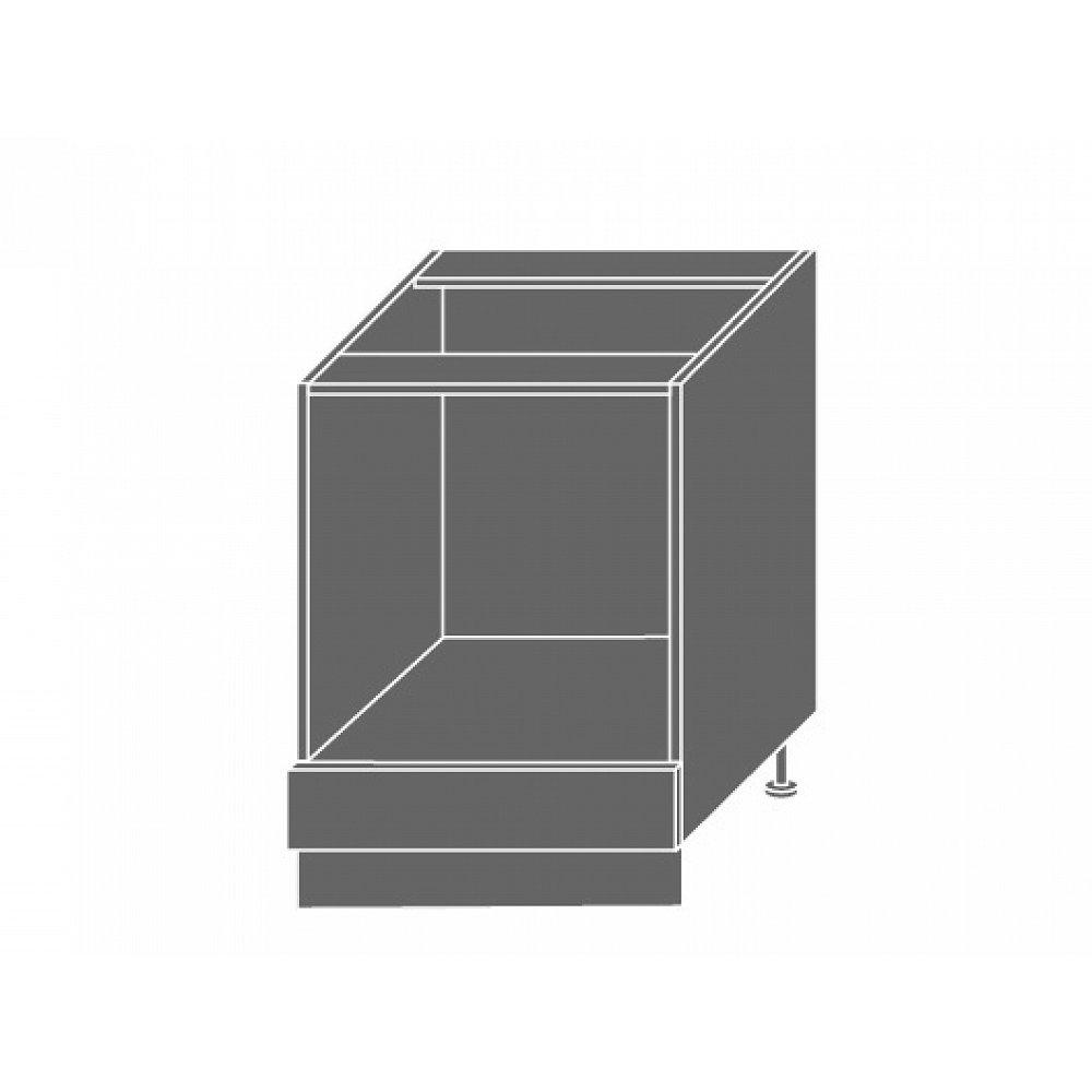 PLATINUM, skříňka dolní D11k 60, korpus: grey, barva: vanilla