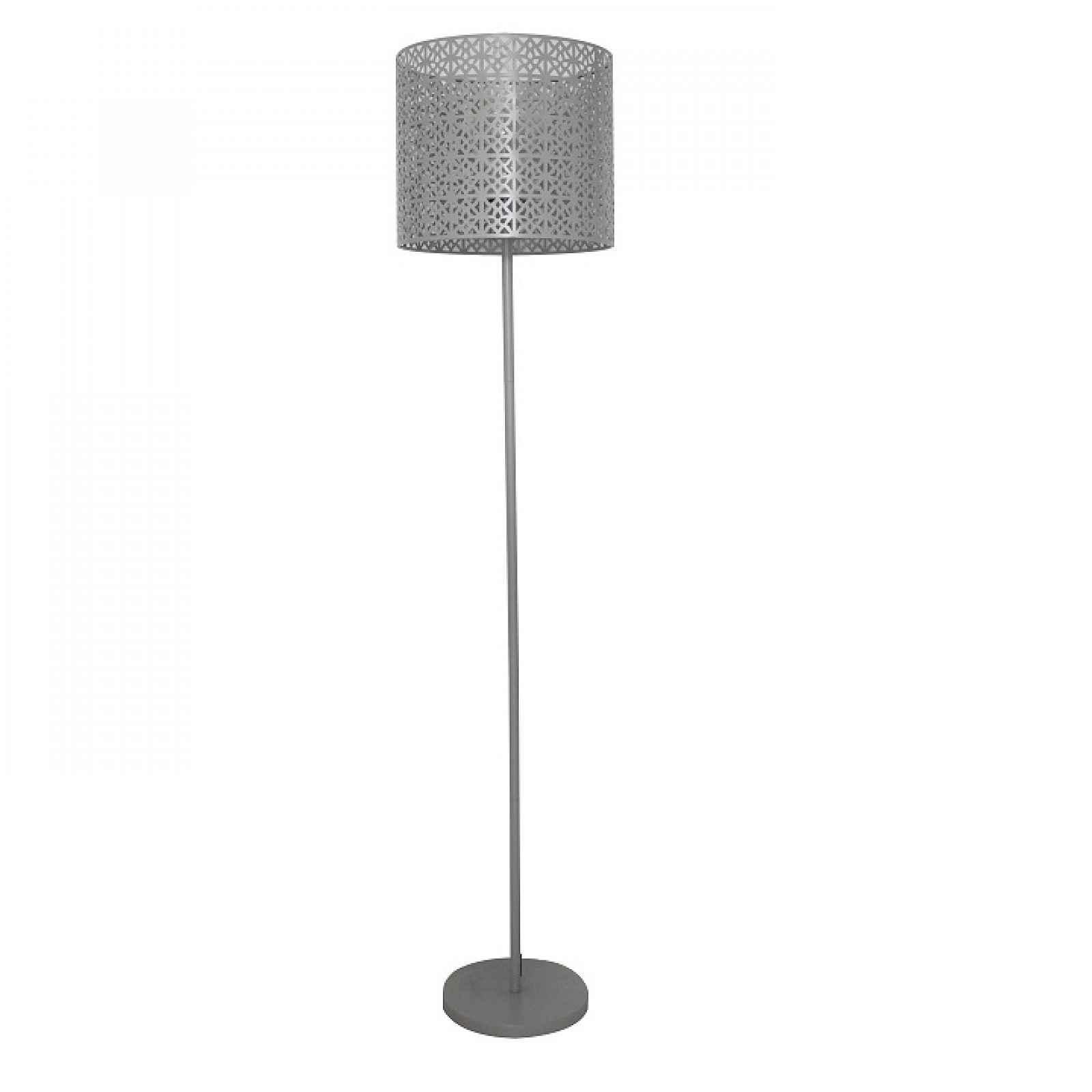 Stojací lampa, šedá, JADE TYP 9 0000192034 Tempo Kondela