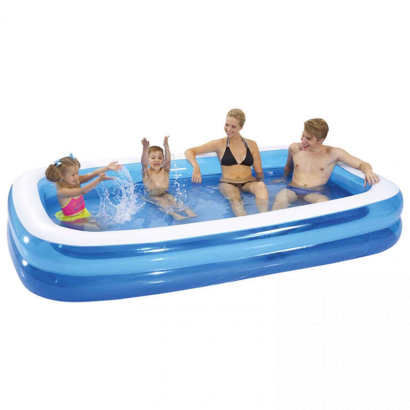 Bestway 54006 Family Pool 262 x 175 x 51 cm