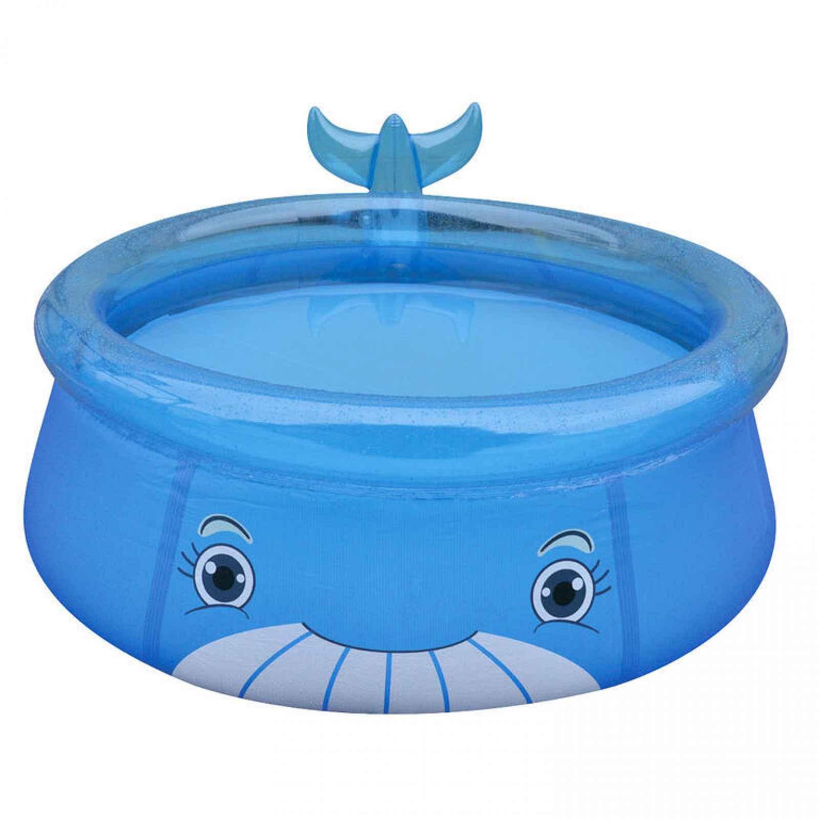 Bazén nafukovací dětský 175 x 62 cm, velryba