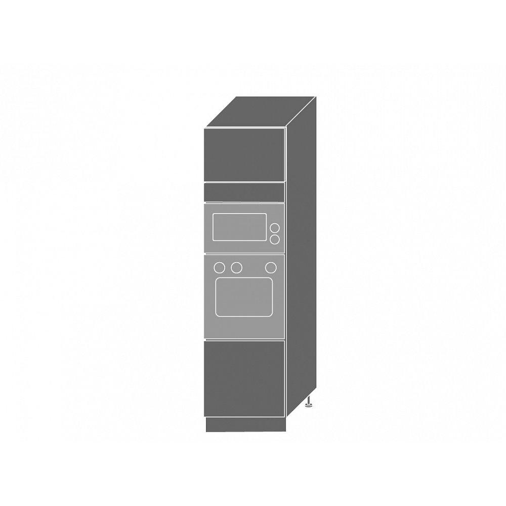 EMPORIUM, skříňka pro vestavbu D14RU, korpus: lava, barva: light grey stone