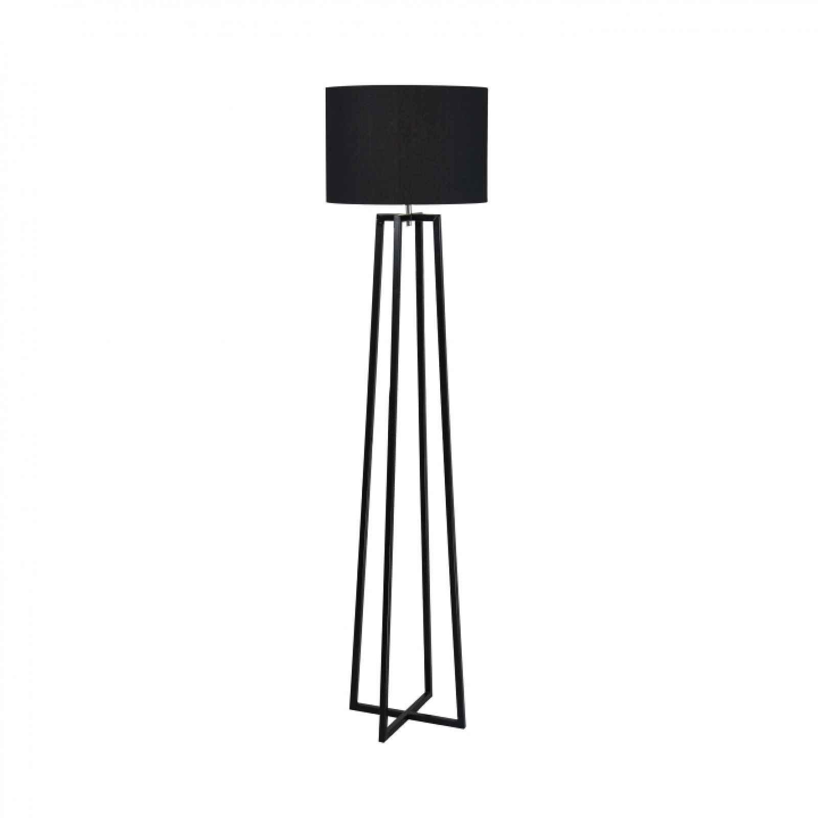 Stojací lampa QENNY TYP 17 černá Tempo Kondela
