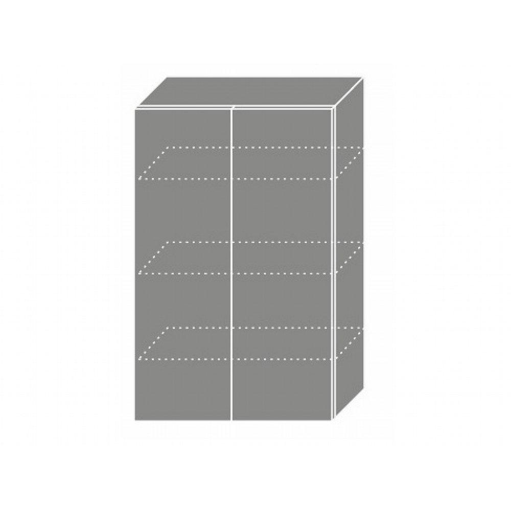 PLATINUM, skříňka horní W4 60, korpus: grey, barva: black