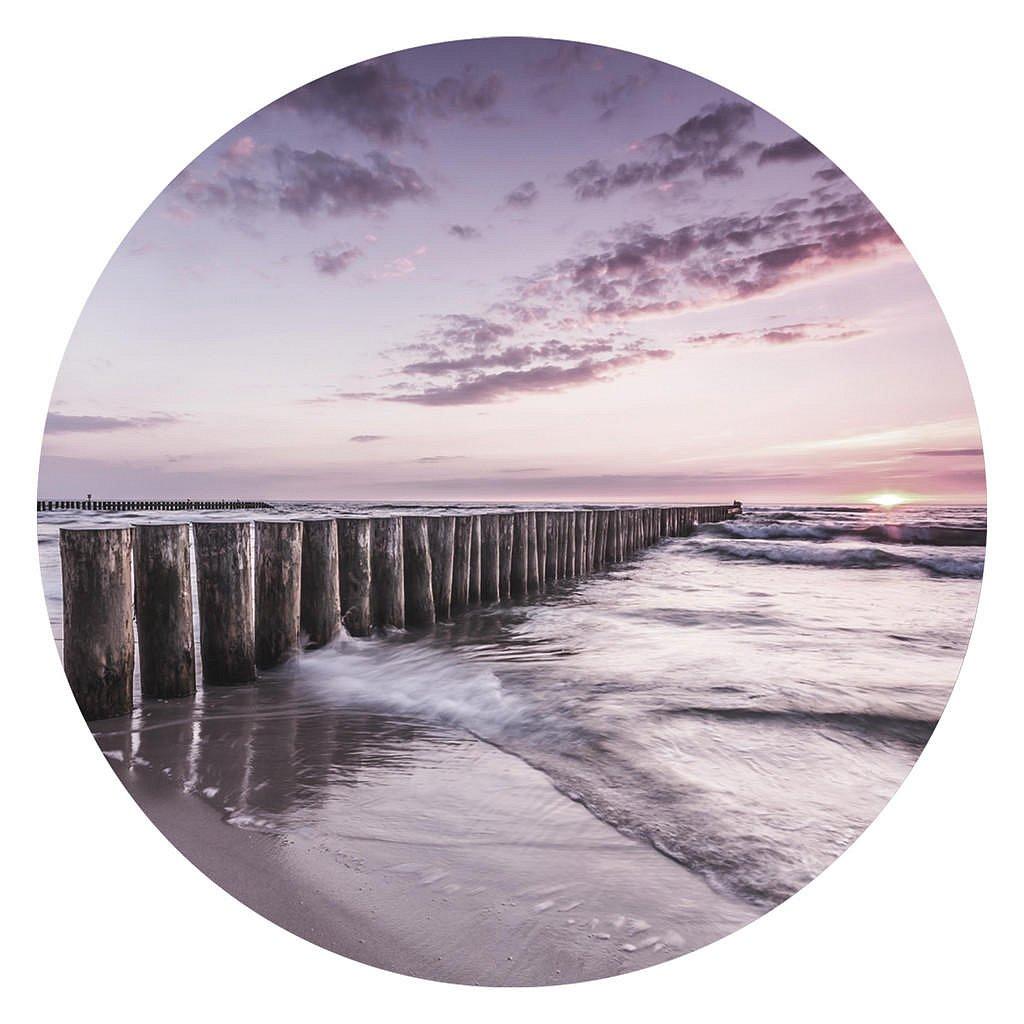 Monee Obraz Na Skle, Krajina & Příroda, Pláž & Moře, - Skleněné obrazy - 0050900179