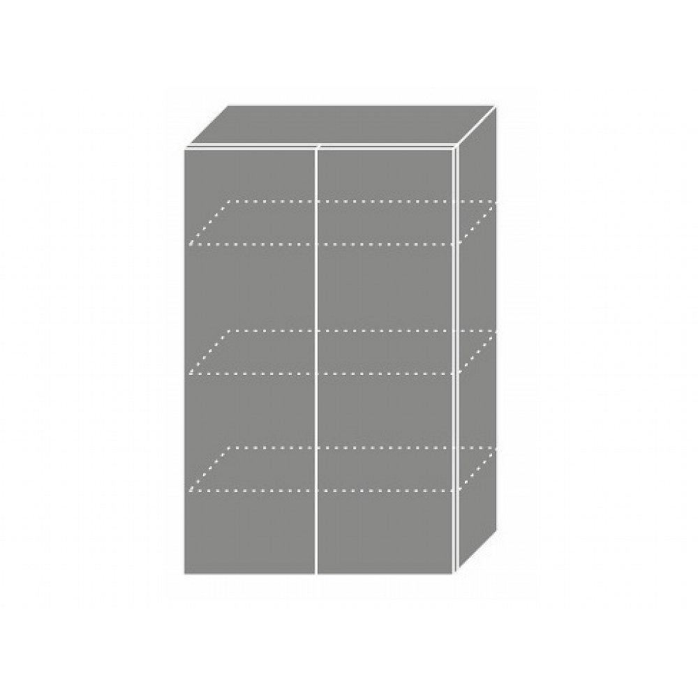 PLATINUM, skříňka horní W4 60, korpus: lava, barva: vanilla