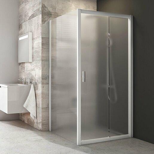 Boční zástěna ke sprchovým dveřím 100x190 cm Ravak Blix bílá 9BHA0100ZG