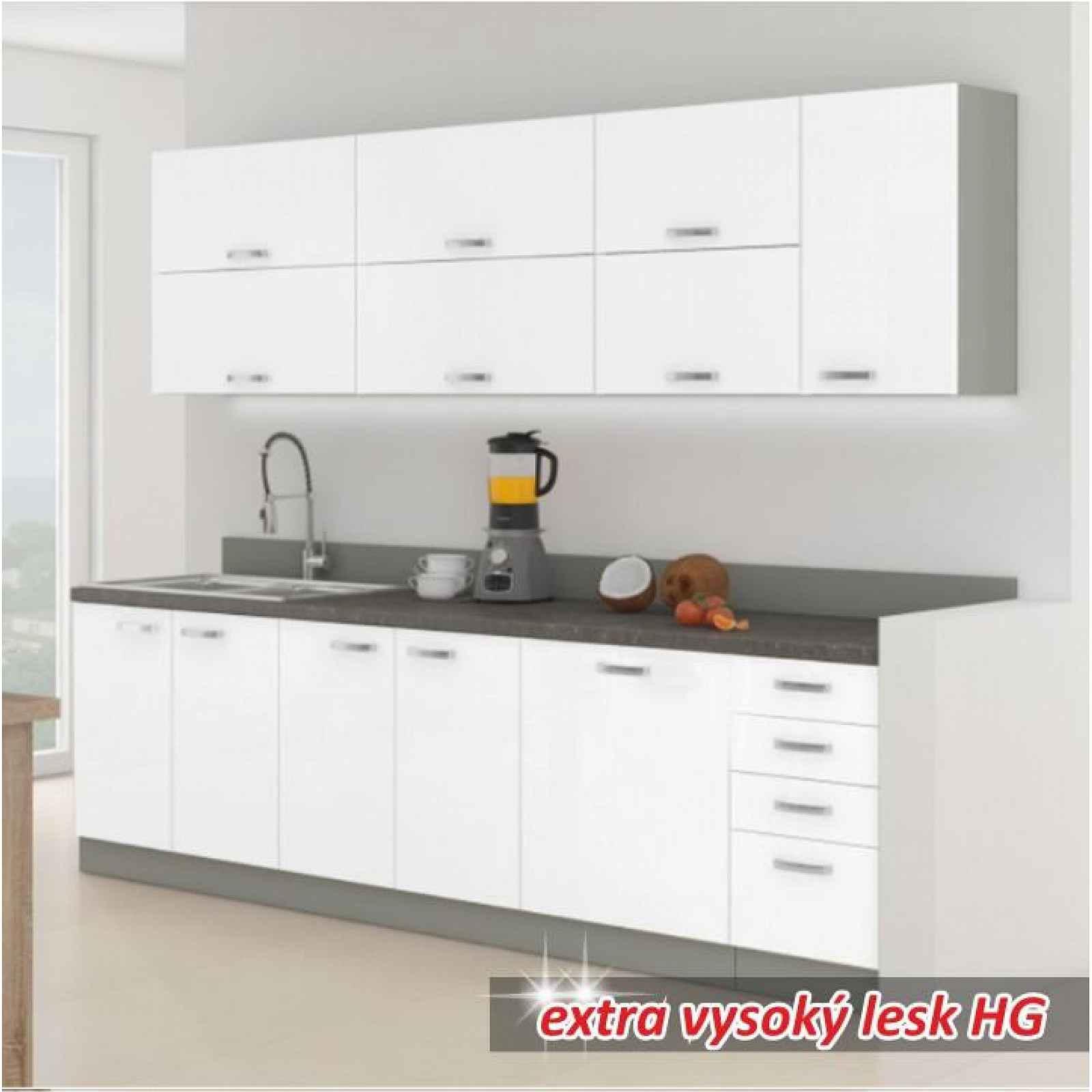 Kuchyňská linka, PRADO 0000088001 Tempo Kondela Bílá