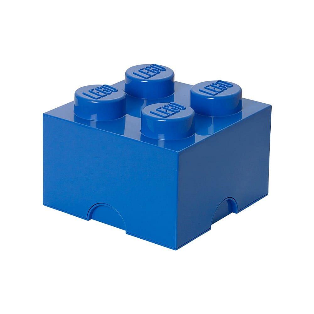 Modrý úložný box čtverec LEGO®