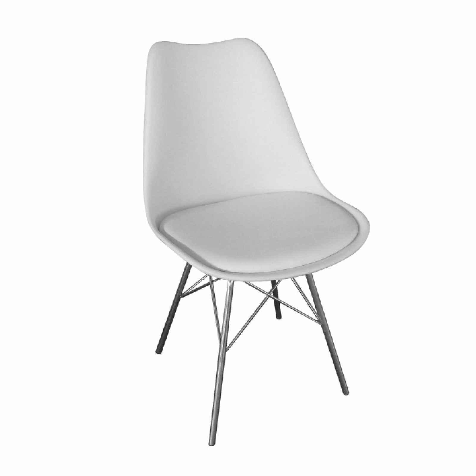 Židle, TAMORA 0000201991 Tempo Kondela Bílá