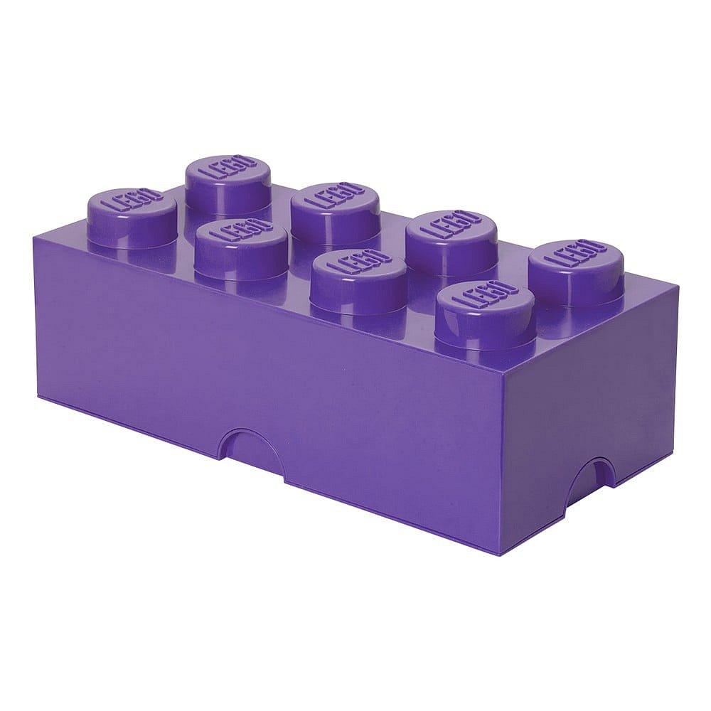 Fialový úložný box LEGO®