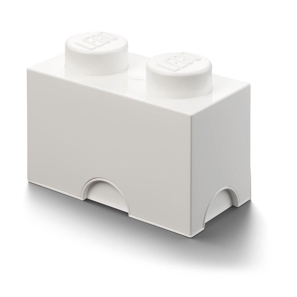 Bílý úložný dvojbox LEGO®