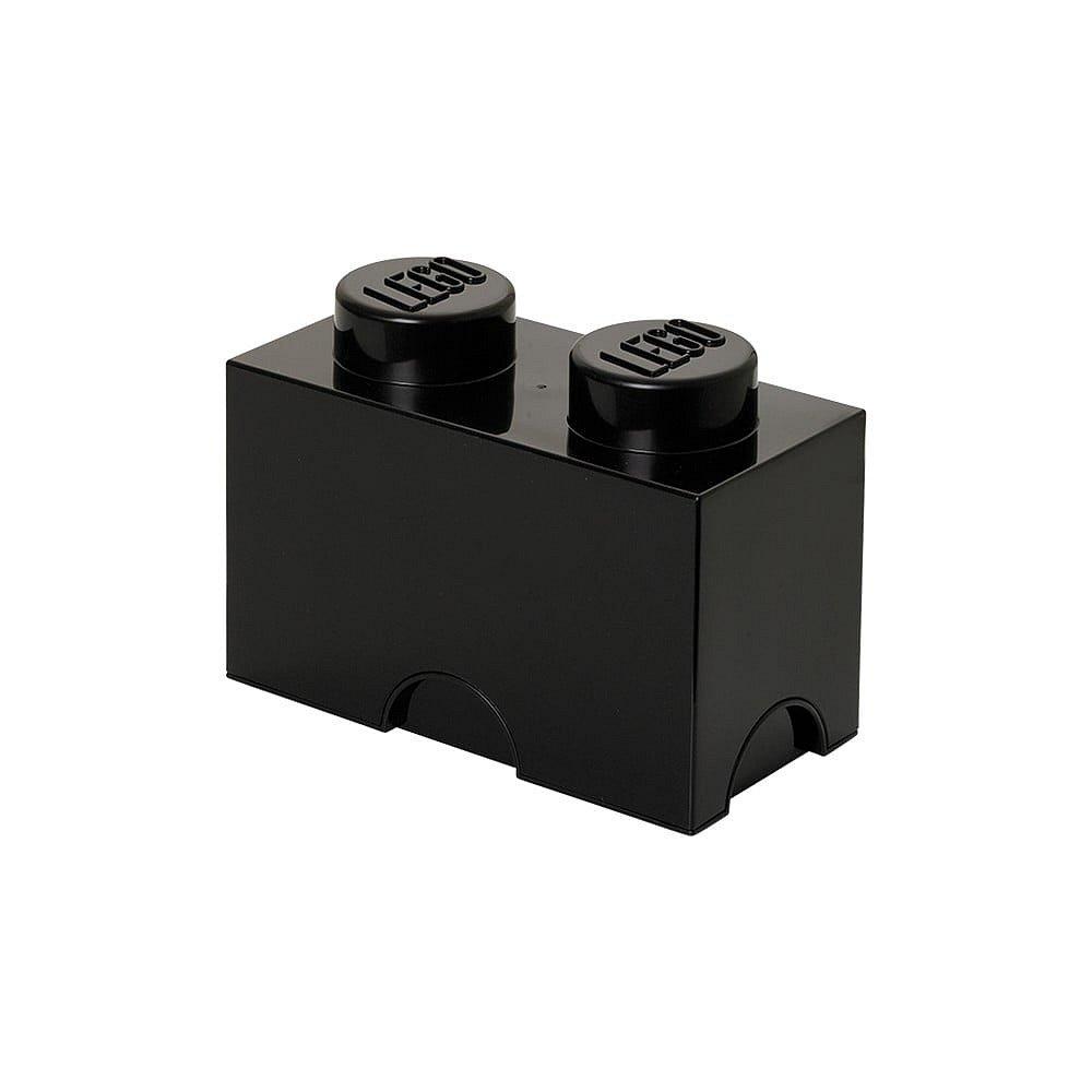 Černý úložný dvojbox LEGO®