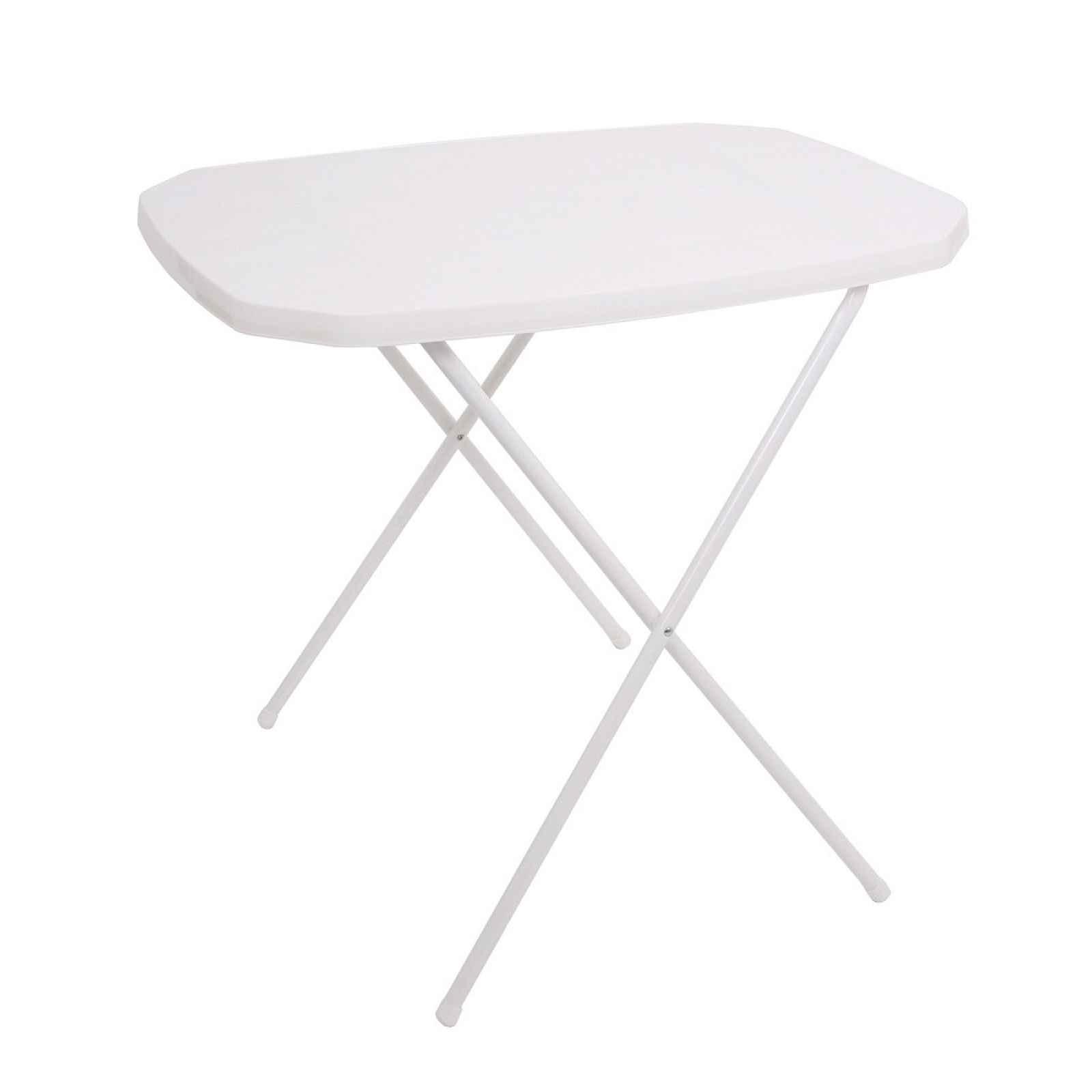 Stůl CAMPING 53x70 - bílý Dajar