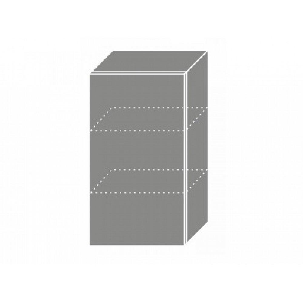 TITANIUM, horní skříňka W2 40, korpus: grey, barva: fino černé