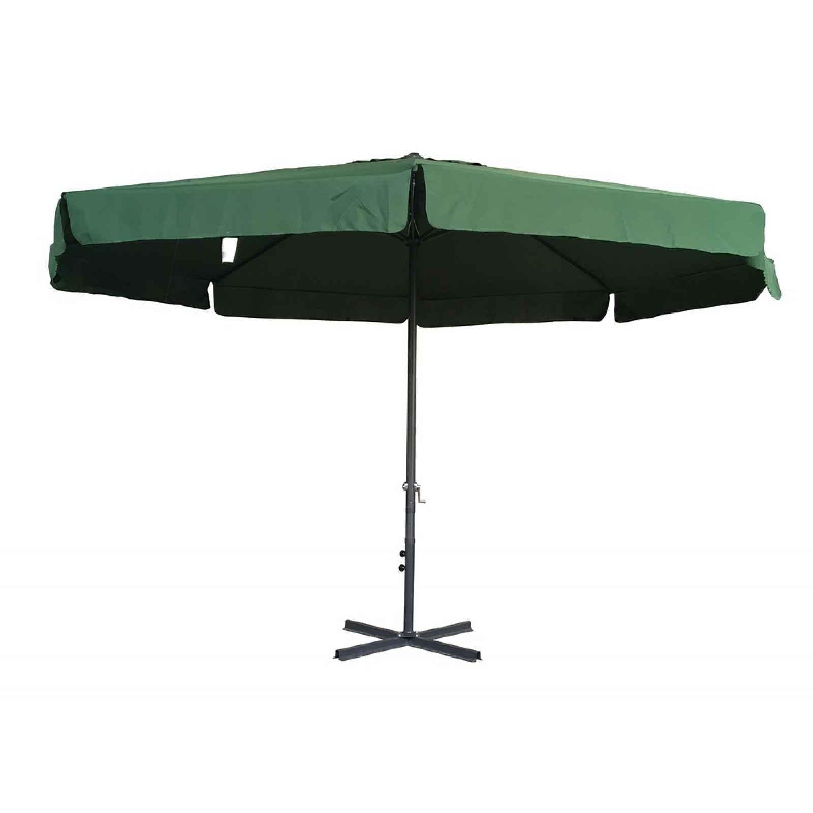 Slunečník STANDART 3m - zelený ROJAPLAST