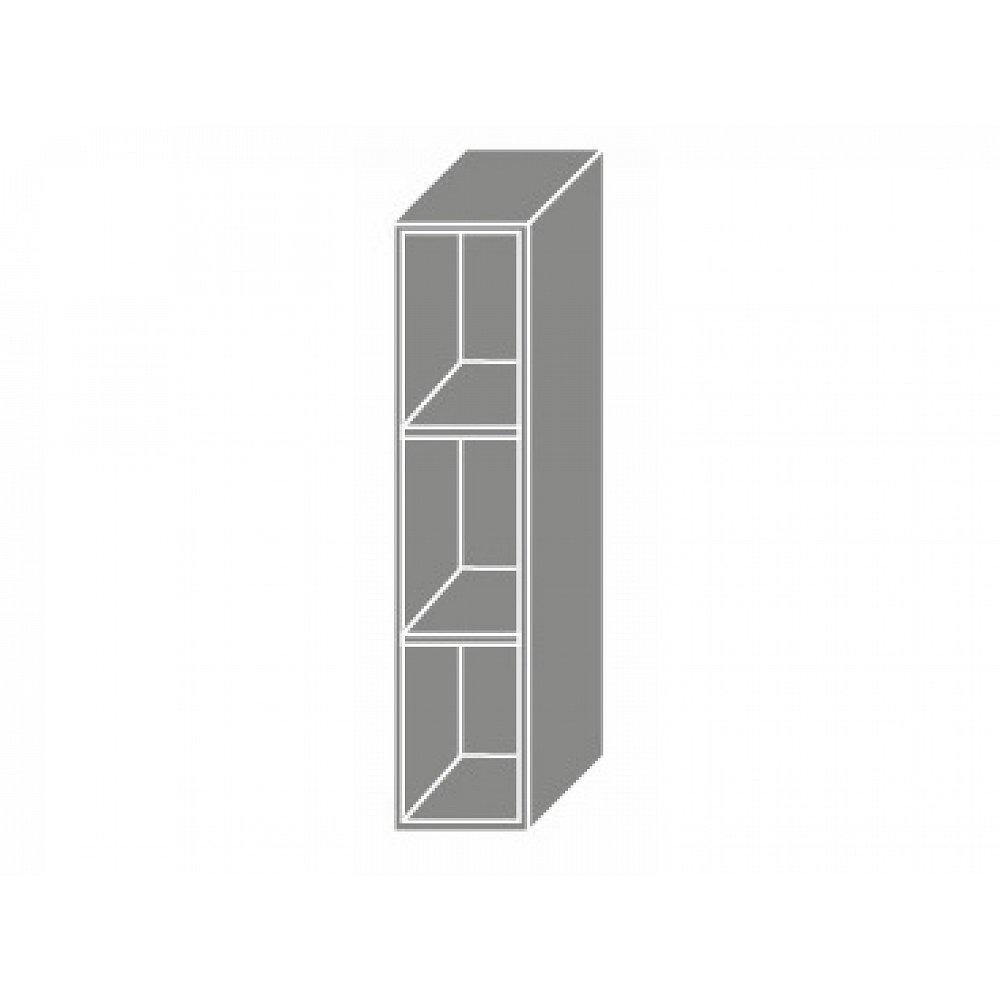 TITANIUM, skříňka horní W15, grey