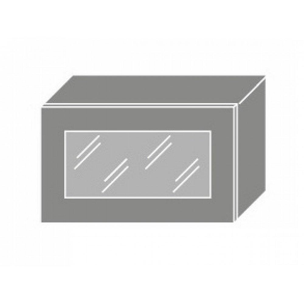 TITANIUM, skříňka horní W4bs 60 WKF, korpus: grey, barva: fino černé