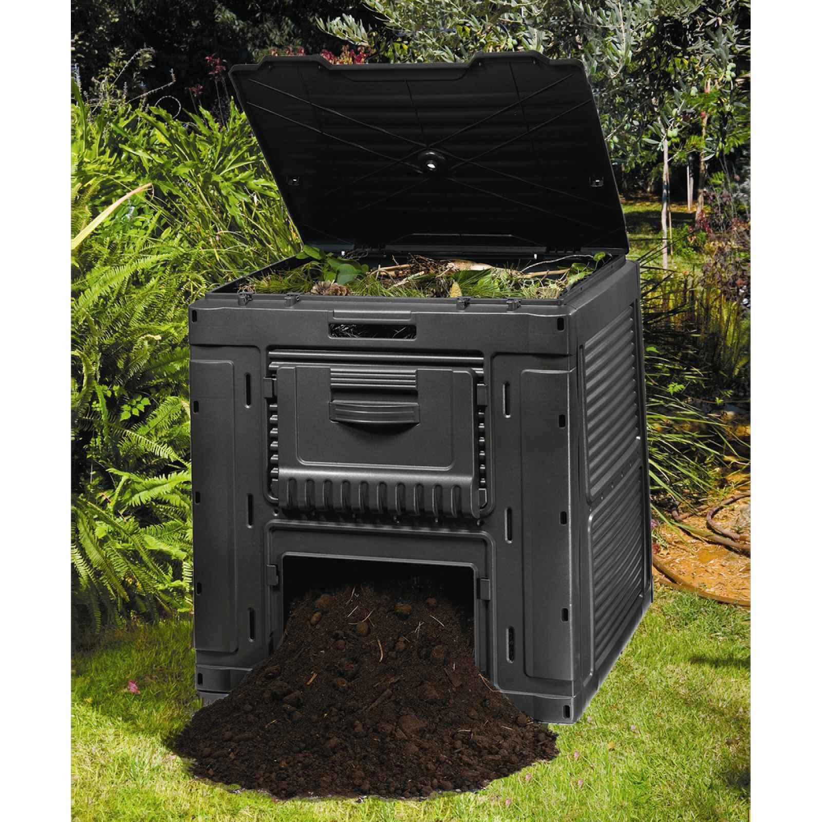 E-kompostér 470L - s podstavcem Keter