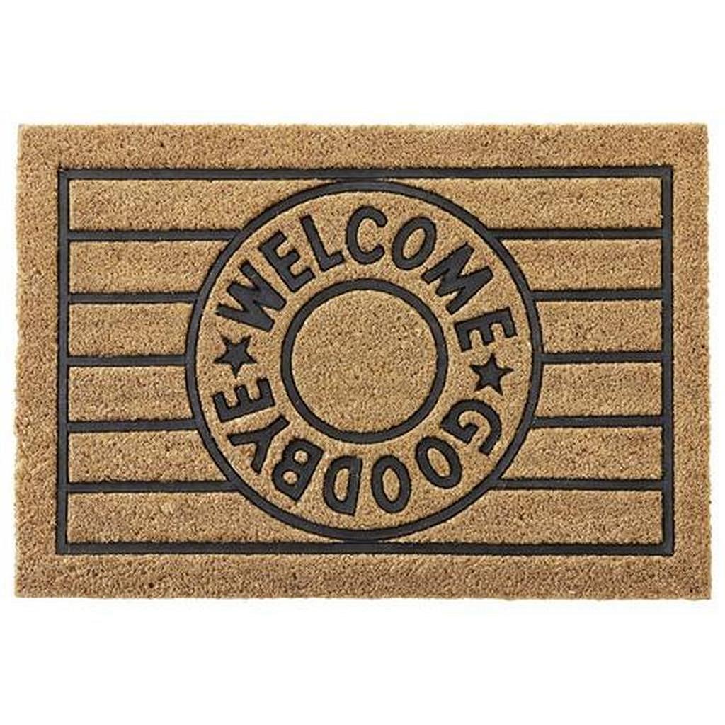 Dveřní Rohožka Welcome & Goodbye