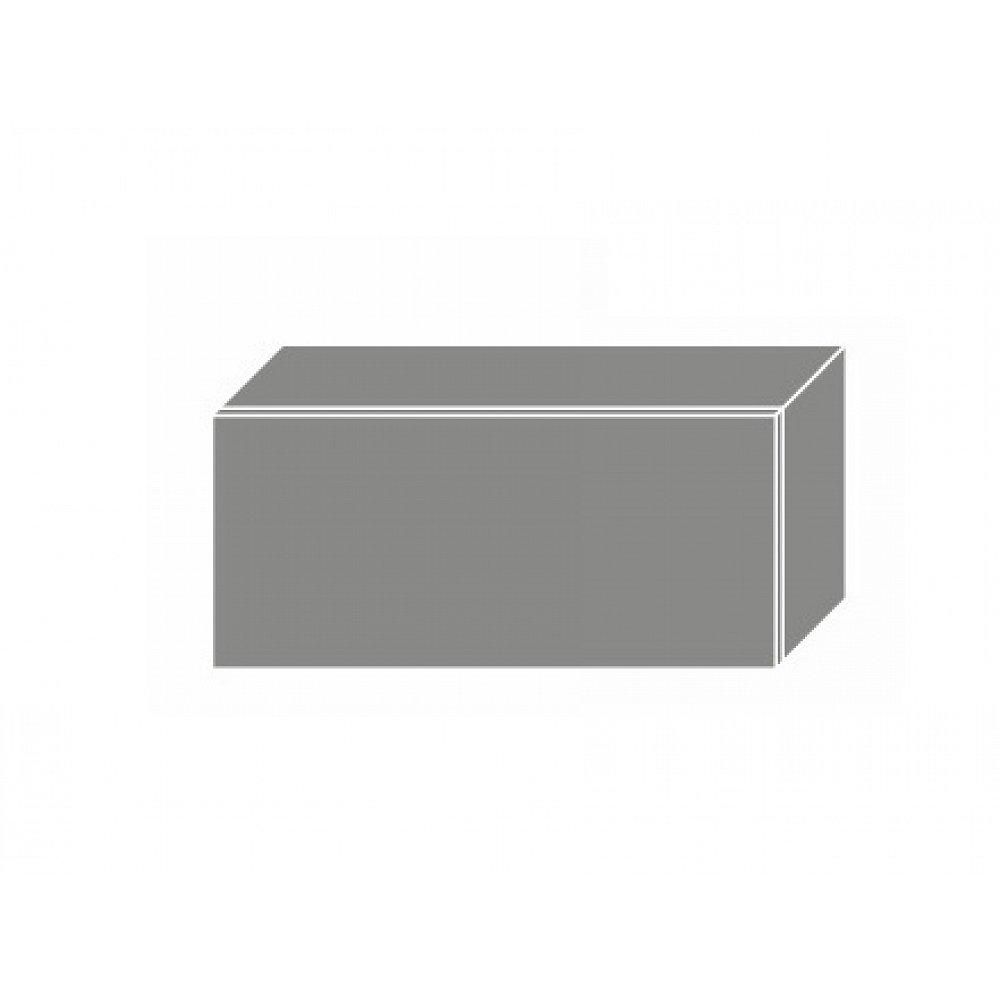 TITANIUM, horní skříňka W4b 80, korpus: bílý, barva: fino černé