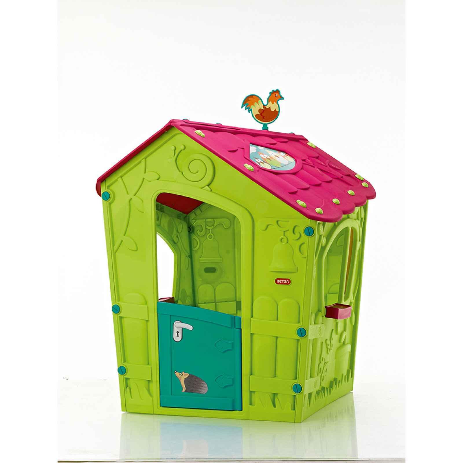 MAGIC PLAY HOUSE domeček - zelený Keter
