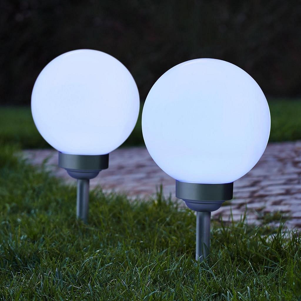 Solární Lampa Luke Studená Bílá
