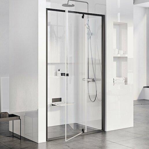 Sprchové dveře 100x190 cm Ravak Pivot černá 03GA0300Z1