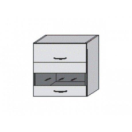 JURA NEW I, horní skříňka OGW1-80, rigoleto dark