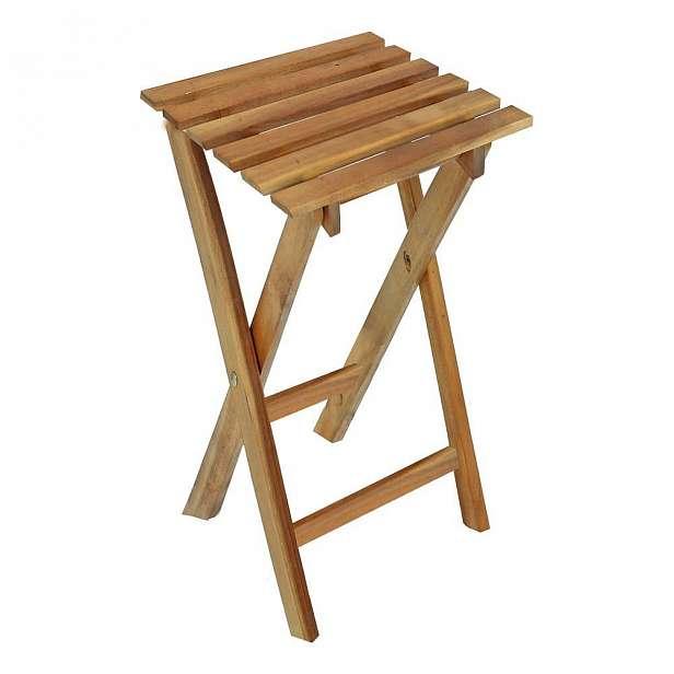 Zahradní skládací stolek z eukalyptového dřeva ADDU Yakima