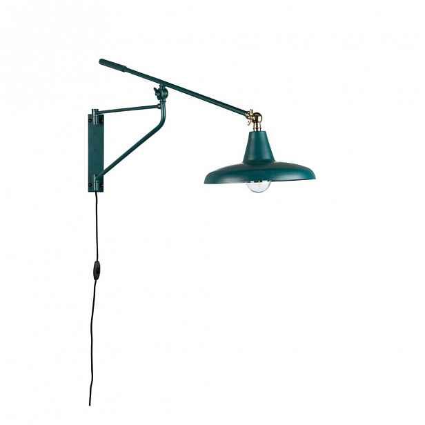 Zelené nástěnné svítidlo Dutchbone Hector