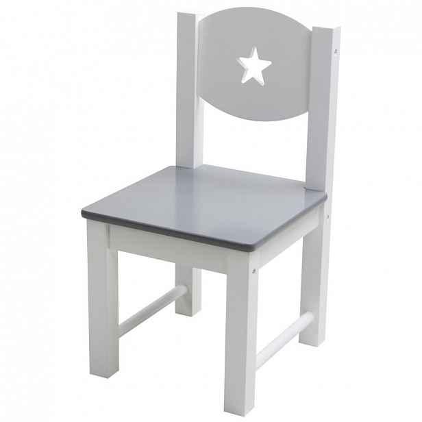 XXXLutz DĚTSKÁ ŽIDLE, šedá, bílá, My Baby Lou - Nábytek do dětského pokoje - 002793000903