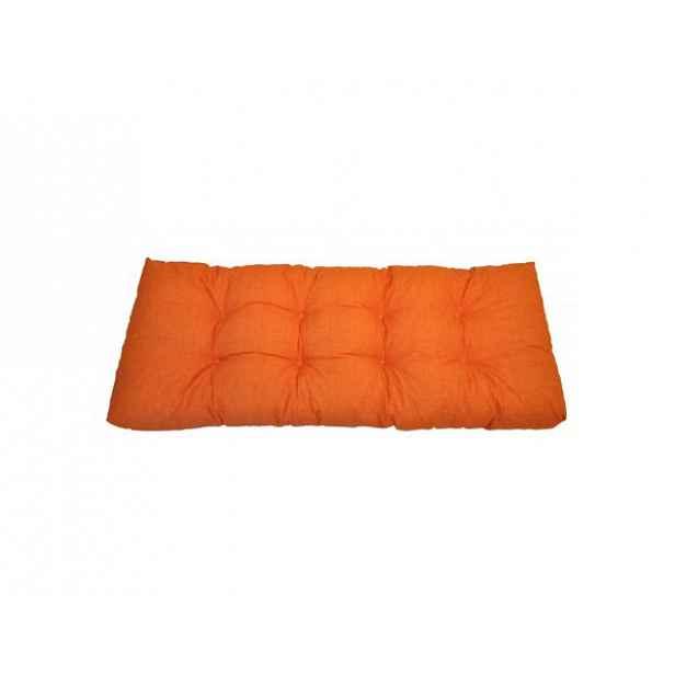 Opěradlový polstr na paletu 120x40 cm - oranžový melír