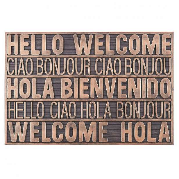 Dveřní Rohožka International Welcome